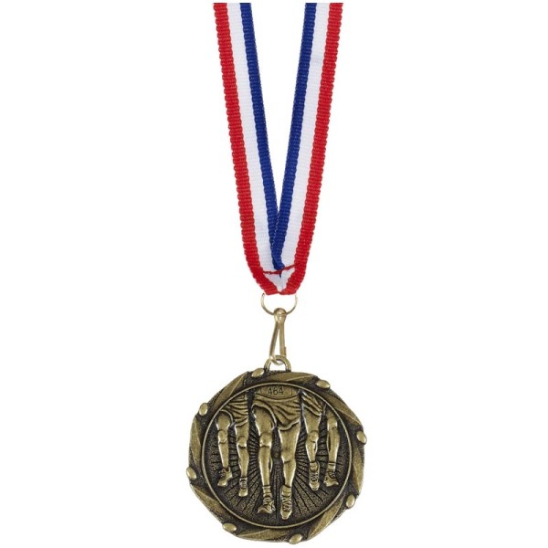 Combo Running Medal and Ribbon