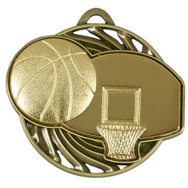 Vortex Basketball Medal Gold