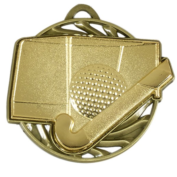 Vortex Hockey Medal Gold