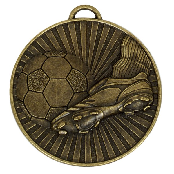 Helix 60mm Football Boot & Ball Bronze