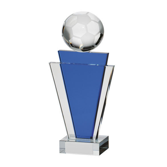 Gauntlet Football Crystal Award 200mm