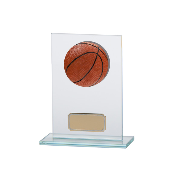 Horizon Jade Glass Basketball Award 140mm