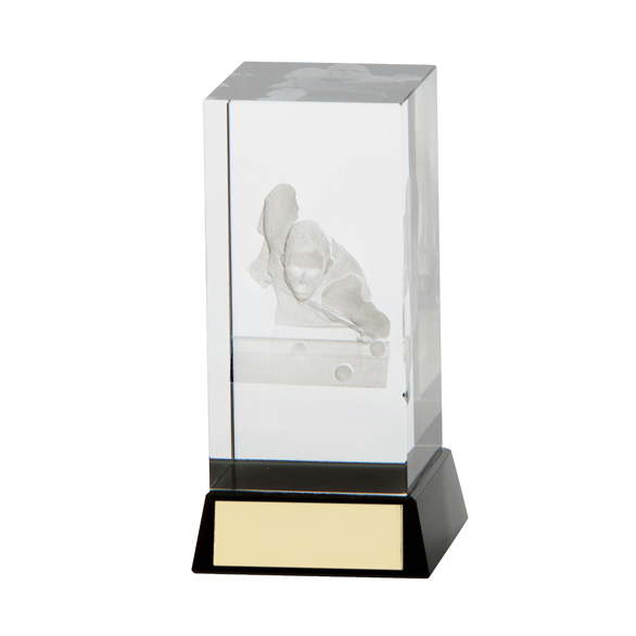 Conquest Crystal Pool/Snooker Award 120mm