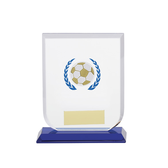 Gladiator Football Glass Award 120mm