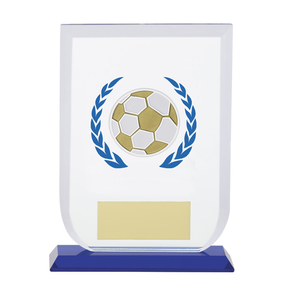 Gladiator Football Glass Award 160mm