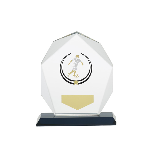 Glacier Football Glass Award 120mm