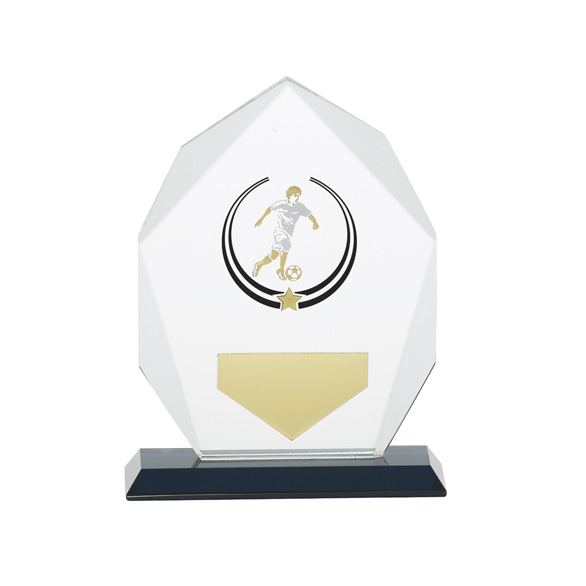 Glacier Football Glass Award 140mm