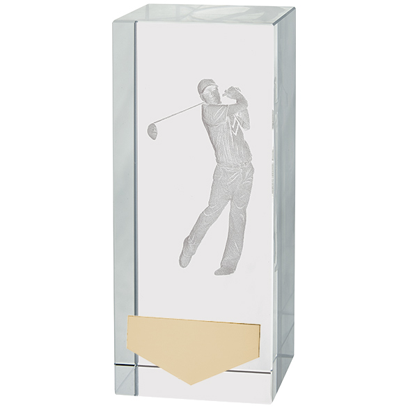 Inverness Golf Male Crystal Award 120mm