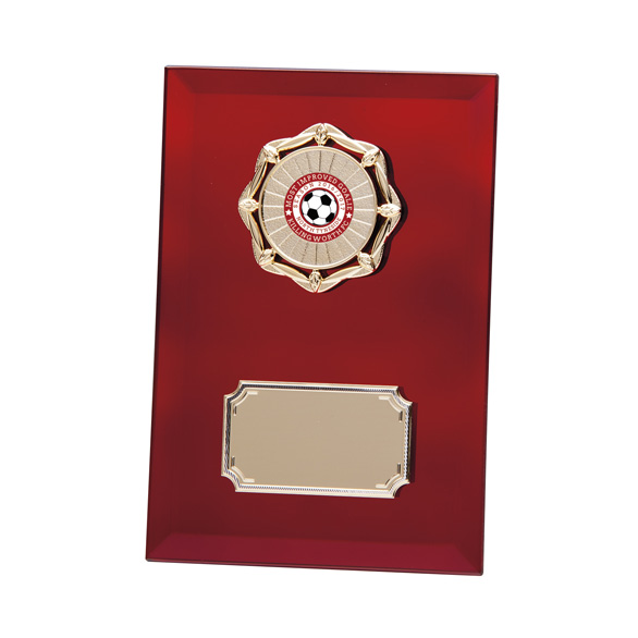 Ruby Mirage Mirror Plaque 200mm