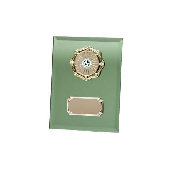 Emerald Mirage Mirror Plaque 150mm