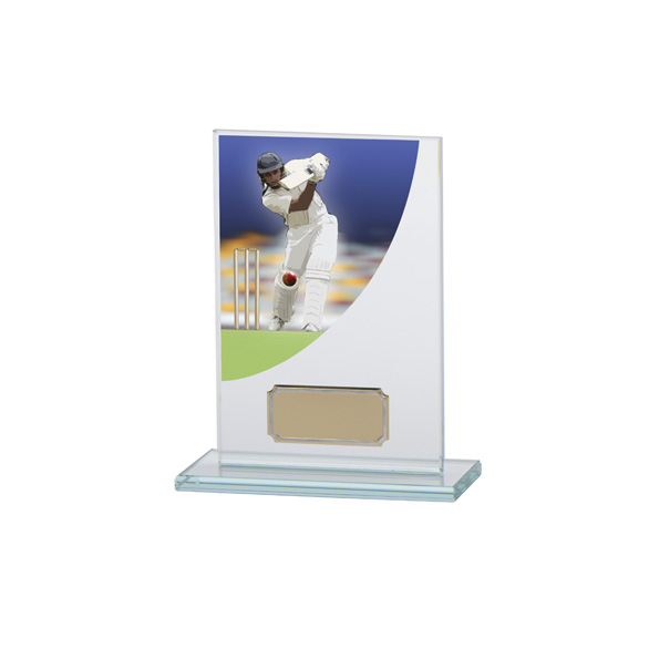 Cricket Award Colour-Curve Jade Crystal 140mm