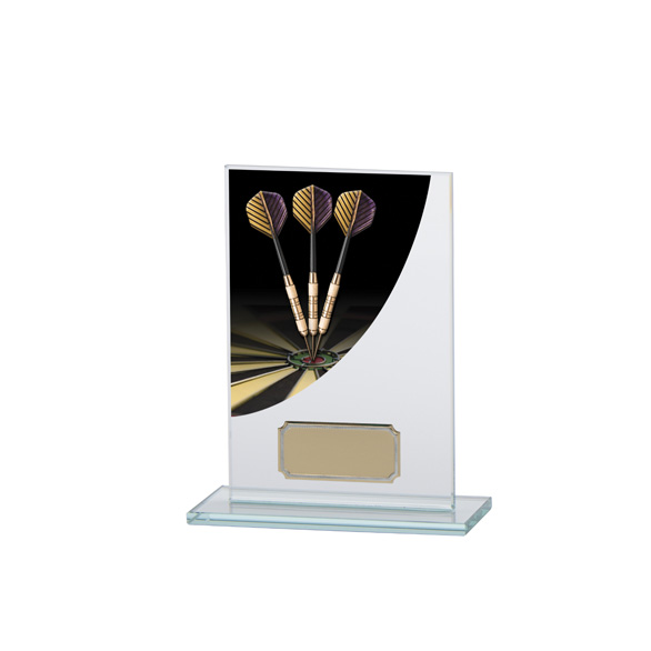 Darts Colour-Curve Jade Crystal Award 140mm