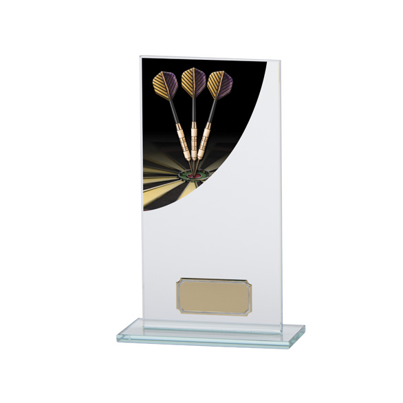 Darts Colour-Curve Jade Crystal Award 180mm