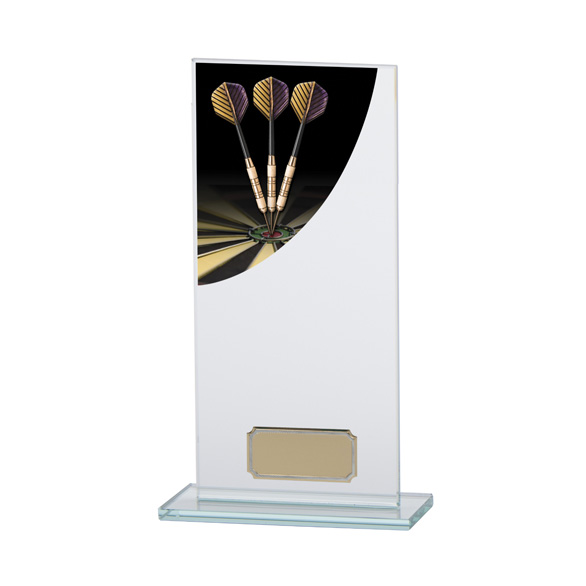 Darts Colour-Curve Jade Crystal Award 200mm