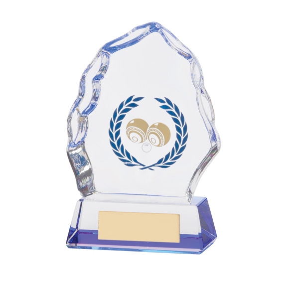 Iceberg Crystal Lawn Bowls Award 110mm