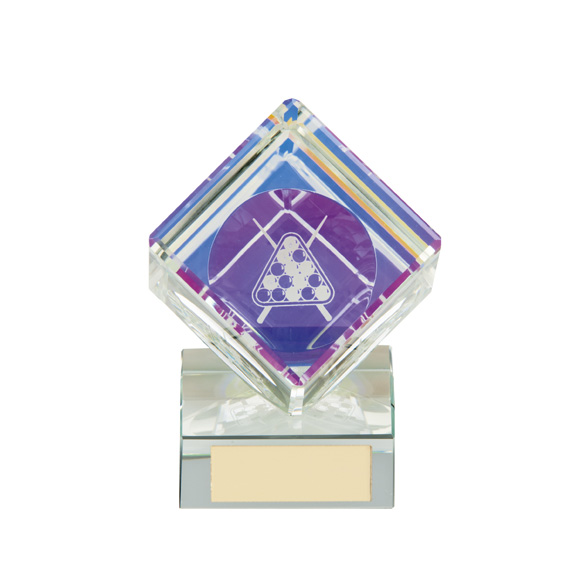 Victorious Pool Cube Crystal Award105mm