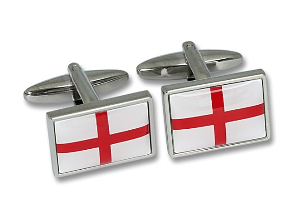 Saint George Flag Cufflinks