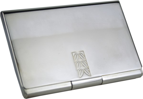 Business  Card Holder (Leaf)