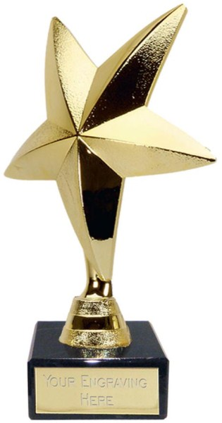 SuperStars Gold Star Trophy