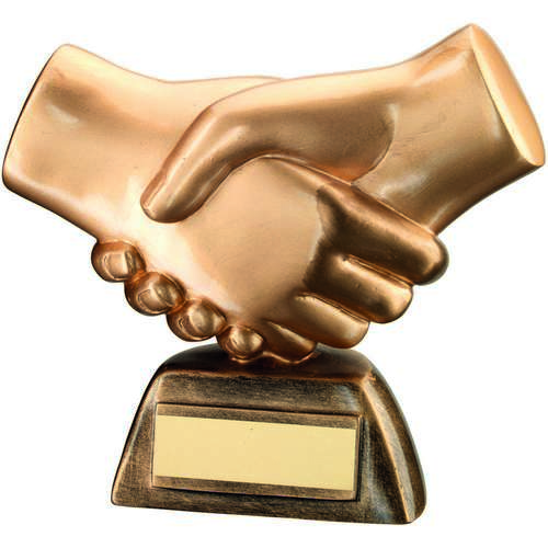 Achievement Handshake Award 160mm