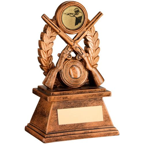 Motion Extreme Clay Shooting Resin Trophy
