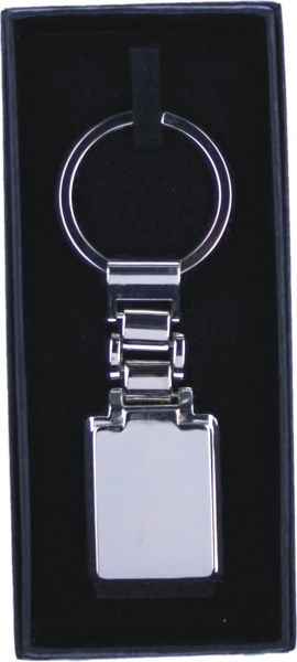 Personalised Engraved Wide Bar Keyring