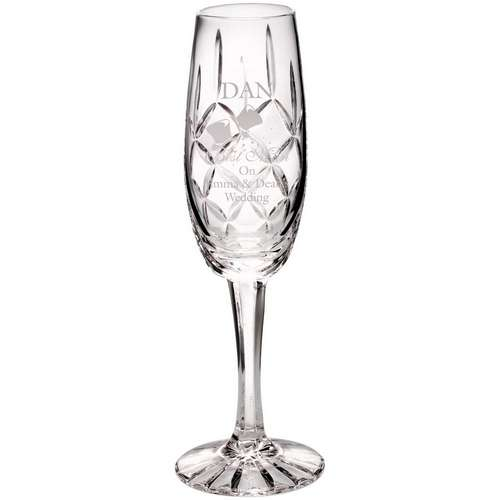 140ML CLASSIC CHAMPAGNE FLUTE - BLANK PANEL 8in