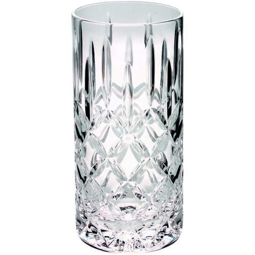 405ML HIGHBALL GLASS TUMBLER - FULLY CUT 6in