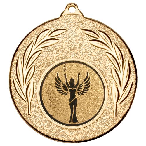 Leaf Medal - 50mm Gold