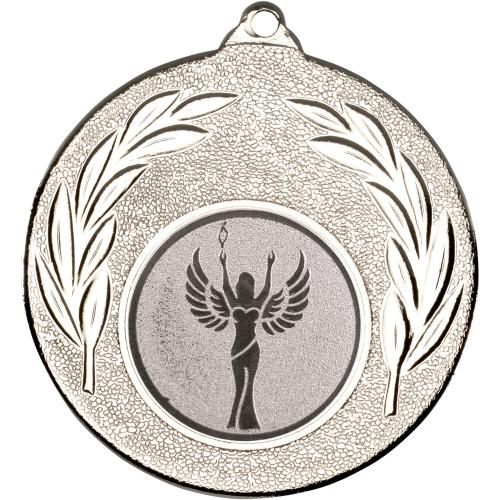 Leaf Medal - 50mm Silver