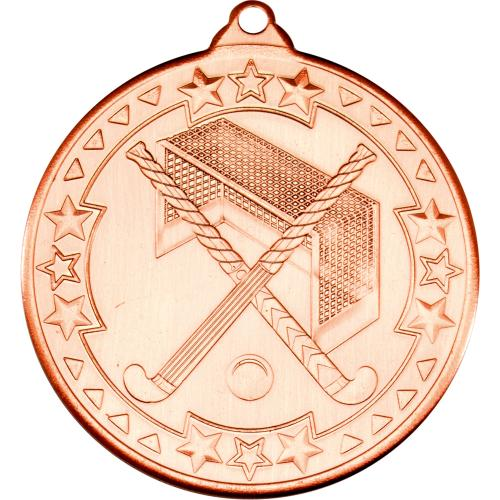 Hockey Medal - Bronze 2in