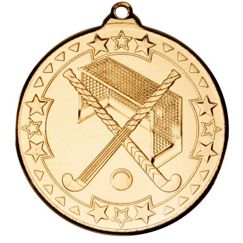 Hockey Medal - Gold 2in
