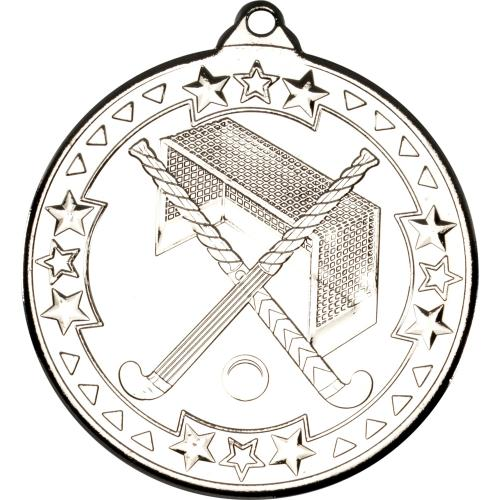 Hockey Medal - Silver 2in