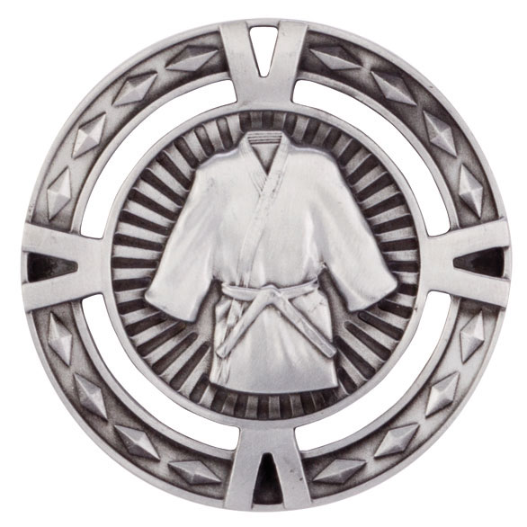 V-Tech Series Medal - Martial Arts Silver 60mm