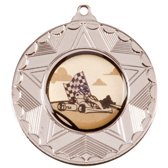 Horizon Medal Series Silver 45mm