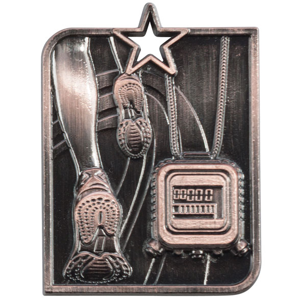 Centurion Star Series Running Medal Bronze 53x40mm