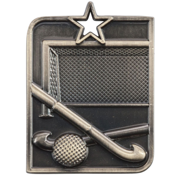 Centurion Star Series Hockey Medal Gold 53x40mm
