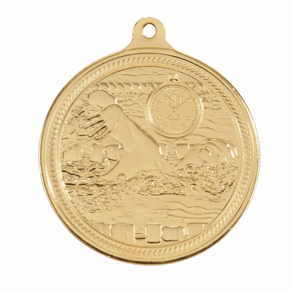 Endurance Swimming Gold Medal 50mm