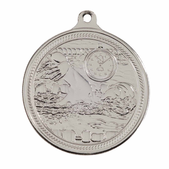 Endurance Swimming Silver Medal 50mm