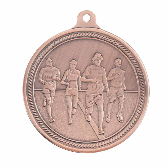 Endurance Running Bronze Medal 50mm