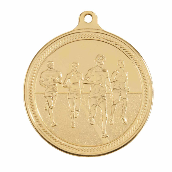 Endurance Running Gold Medal 50mm