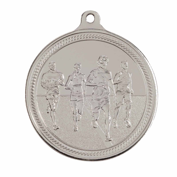 Endurance Running Silver Medal 50mm