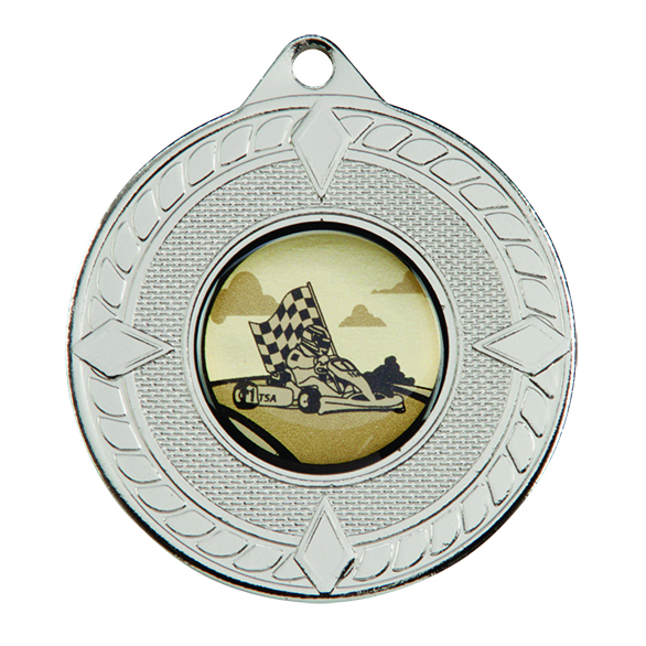 Pinnacle Medal Silver 50mm