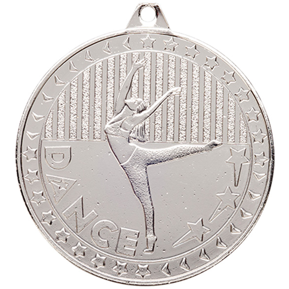 Discovery Dance Medal Silver 50mm