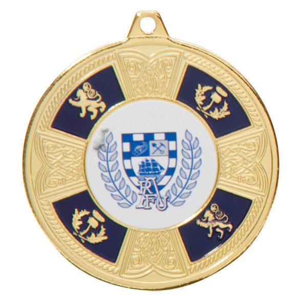 Braemar Medal Series Gold 50mm