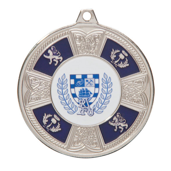 Braemar Medal Series Silver 50mm