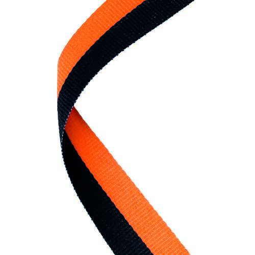 MEDAL RIBBON BLACK/ORANGE