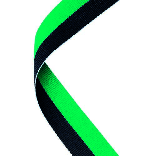 MEDAL RIBBON GREEN/BLACK