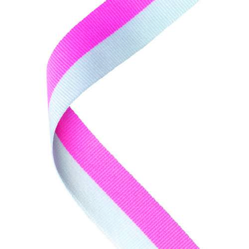 MEDAL RIBBON PINK/WHITE