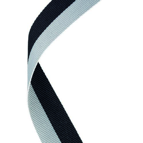 MEDAL RIBBON BLACK/GREY
